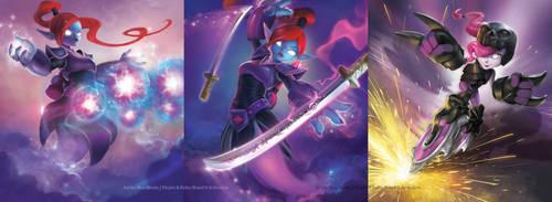 Skylanders Battlecast - Various Pieces 2 by alexweeks