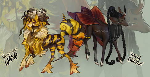 Stygian-Shade Bug Gachas