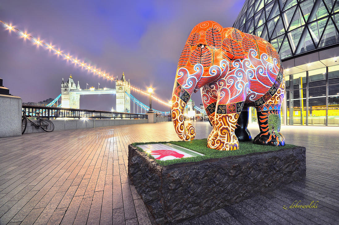 Elephant Parade by hotonpictures