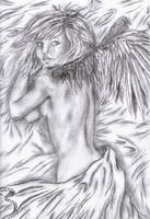 Her Once White Wings by faeryland