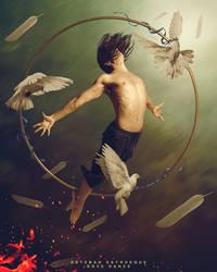 Dove dance by EstebanSayhueque