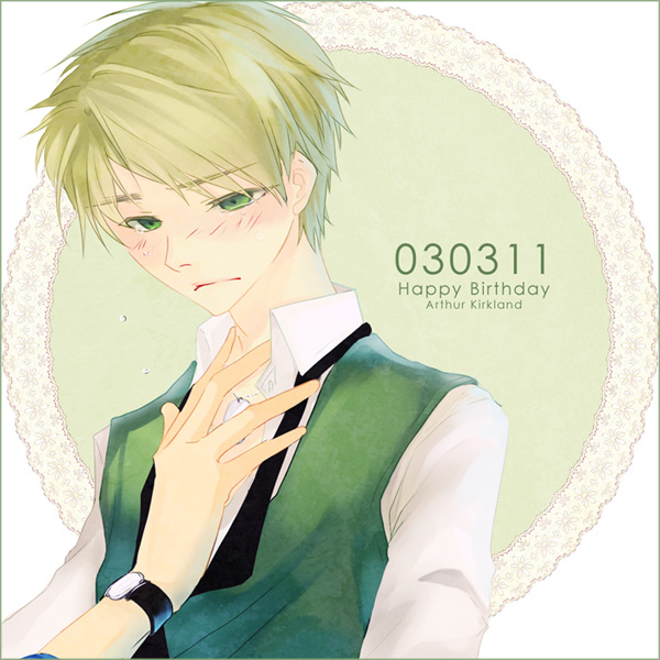 happy 0303 day Arthur by lishtar