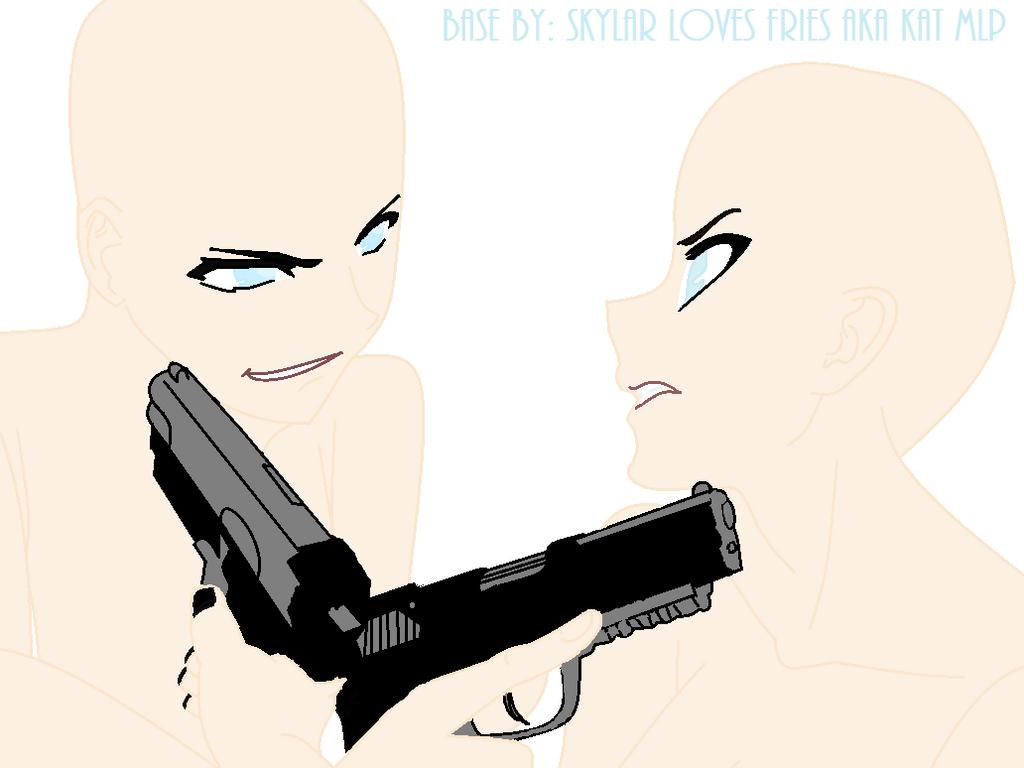 Boy vs Girl Anmie Base by KatMlp on DeviantArt