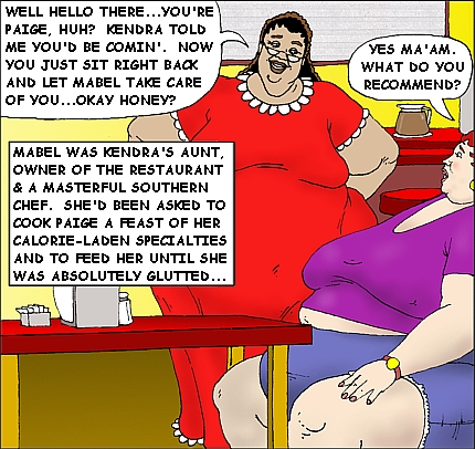Girl Weight Gain Comic Deviantart