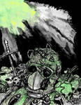 A Soldier of Lost Ixotha by MrRemoraman