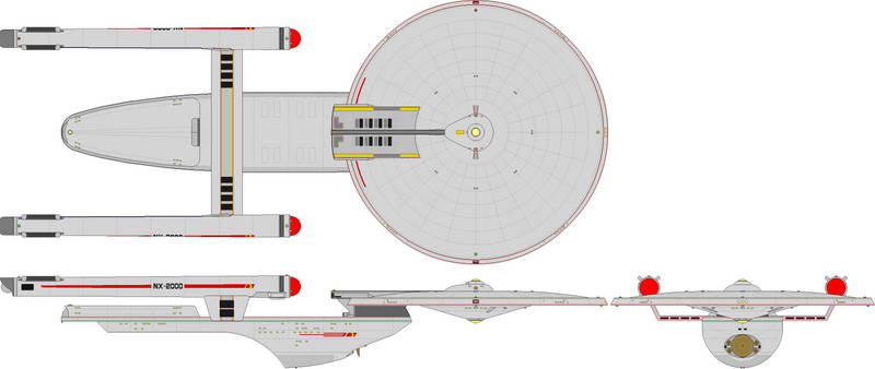 Heavy Cruiser - Excelsior Class Proposal 2267