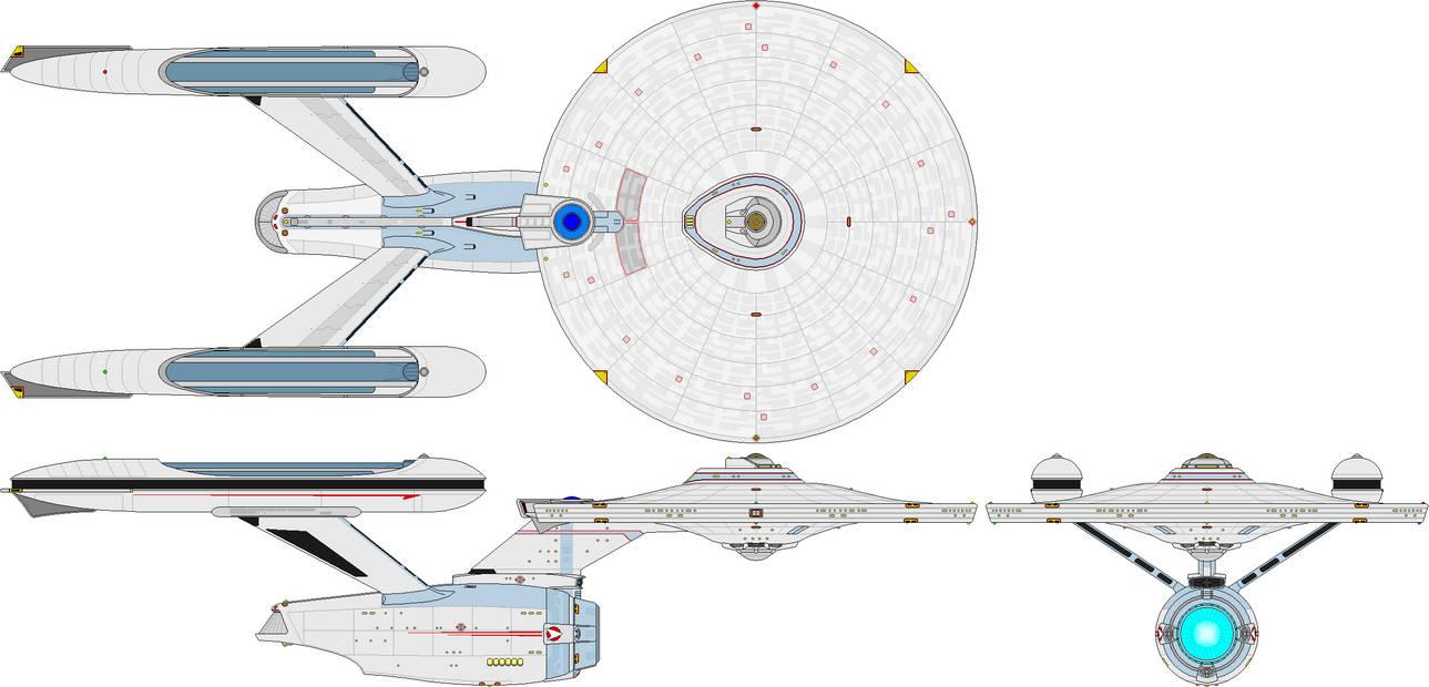 Heavy Cruiser - Enterprise Class LN-72S Refit