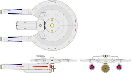 Light Cruiser - Korolev Class (Baton Rouge Era) by BastardShipyards