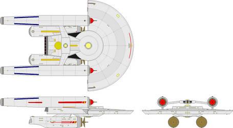 Cruiser - Newton Class (Baton Rouge Era) by BastardShipyards