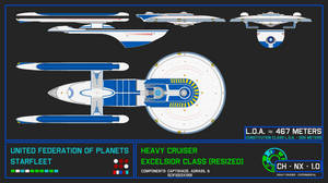 Heavy Cruiser - Excelsior Class (Resized - 467)