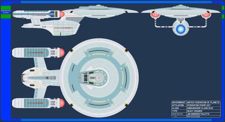 Heavy Cruiser - Ambassador Class 2.0 - Jim Morrow