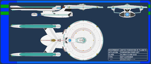 Battle Cruiser - Alaska Class 2.0
