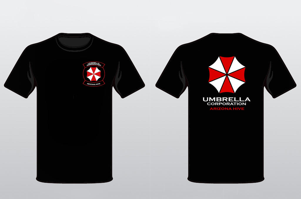Umbrella Corporation Arizona Hive T-Shirt Design by Nachtwolfen18