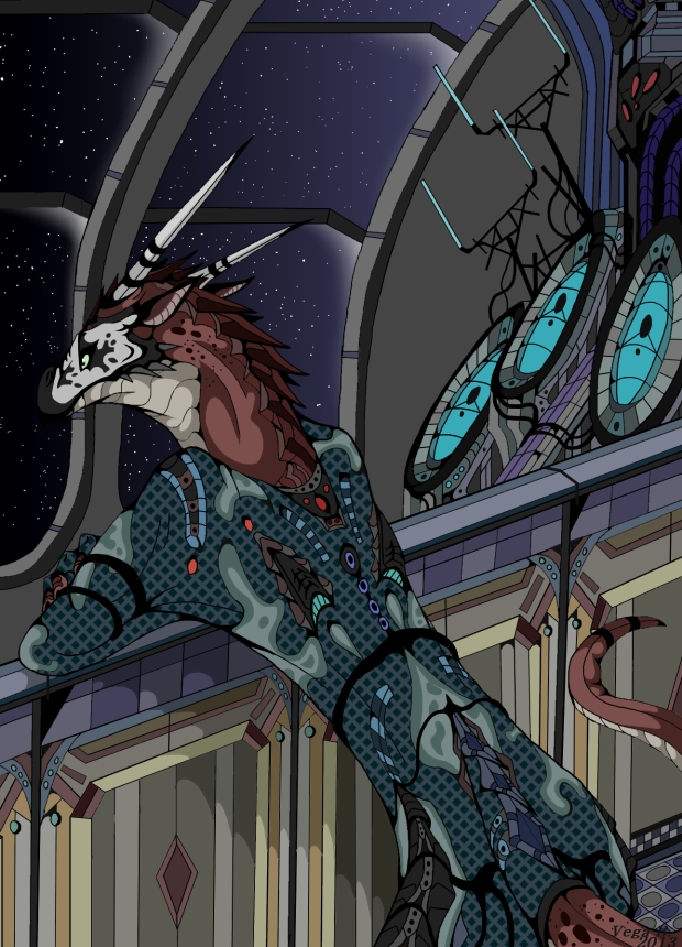 Alien Dragon By Vegabone On Deviantart