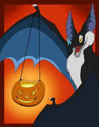 Halloween Bat by VegaBone
