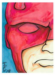 Stan Lee-Daredevil by Fitzufilms