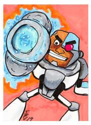 Cyborg Teen Titans Go by Fitzufilms