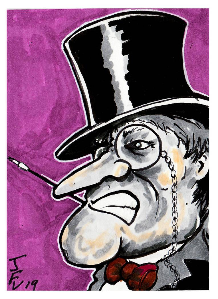 Batman, The Penguin by Fitzufilms