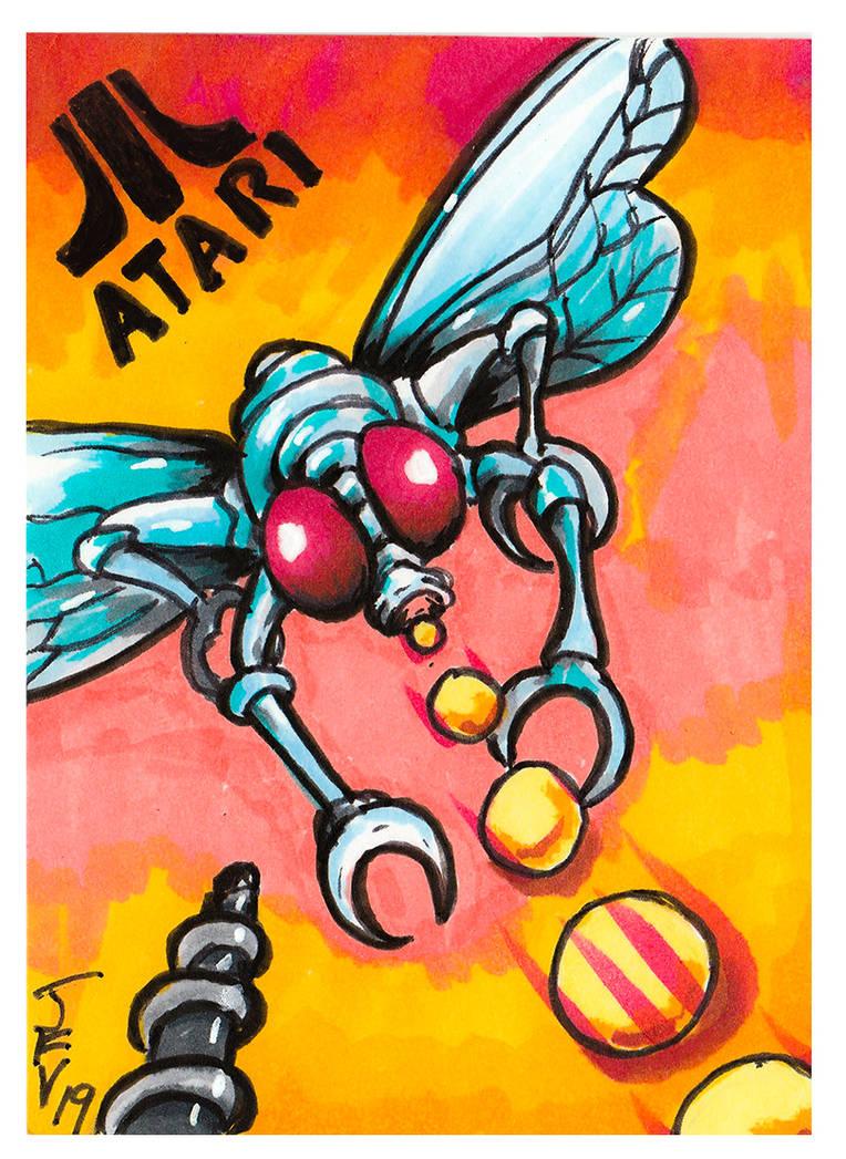 Atari Yars Revenge by Fitzufilms