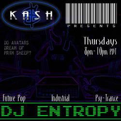 DJ Entropy Nikolaidis at Kash by GreenMonkeyMakiRoll