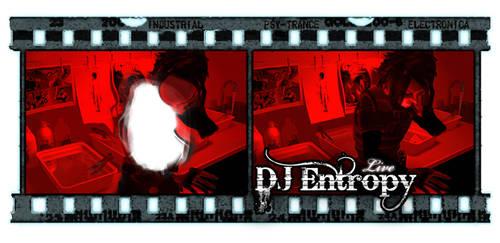 Burned Negative Banner-DJ Ent by GreenMonkeyMakiRoll