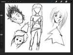 Original Characters work in progress