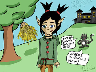 Trixie and Truls Comic: Where is Trolla?