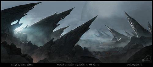 Alien Landscape by 154600Lire