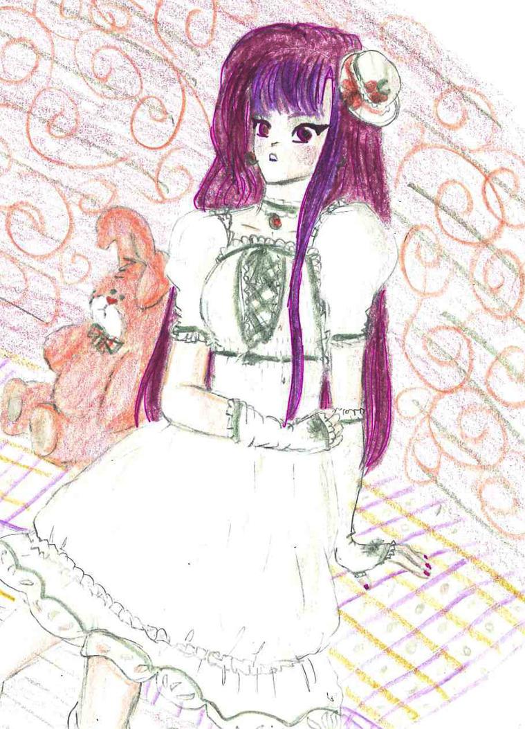 Rabbit and Doll by LuluNatu
