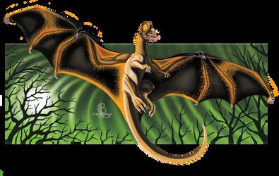 Painted Bat Dragon