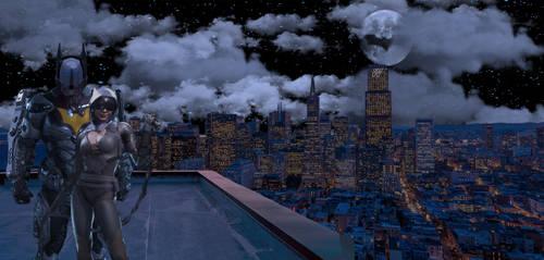 Batman Gotham Crusader by 13en-works