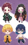 [FA] Demon Slayer Chibis!