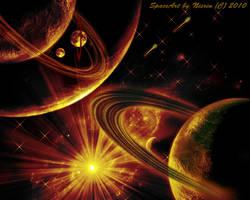 Dark Space by deepmellow