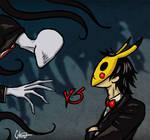Slenderman vs CreepsMcPasta