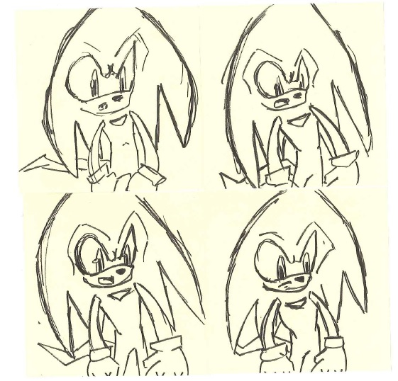 Knux stickies by pushbiscuit