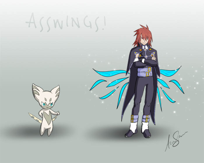 Tales of Asswings by Stealthos-Aurion