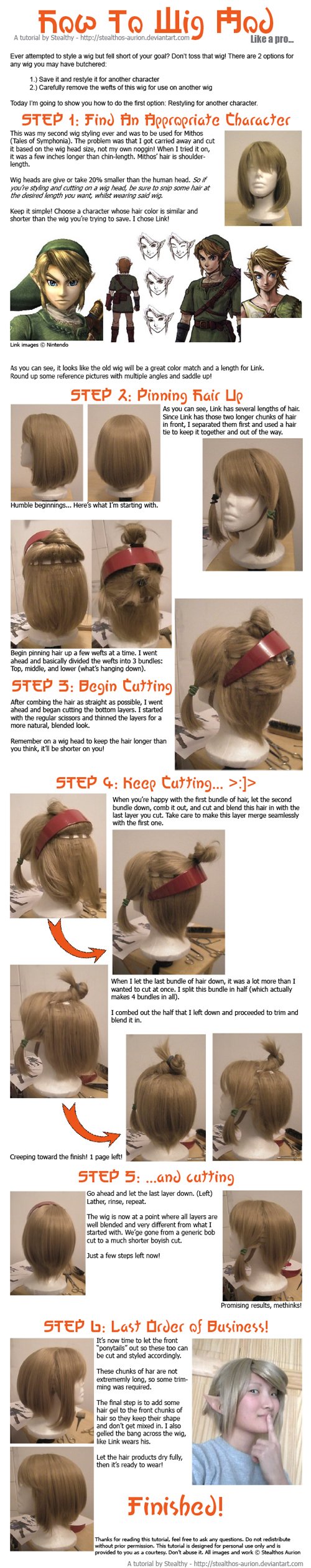 Wig Mod Tutorial by Stealthos-Aurion