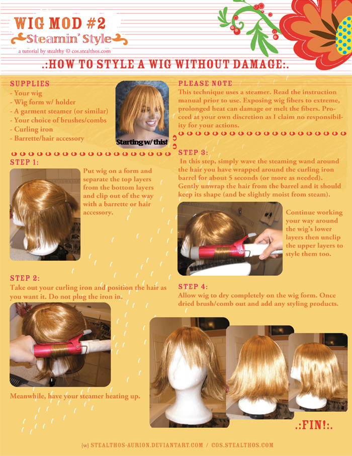 Wig Mod 2: Steamin' Style by Stealthos-Aurion