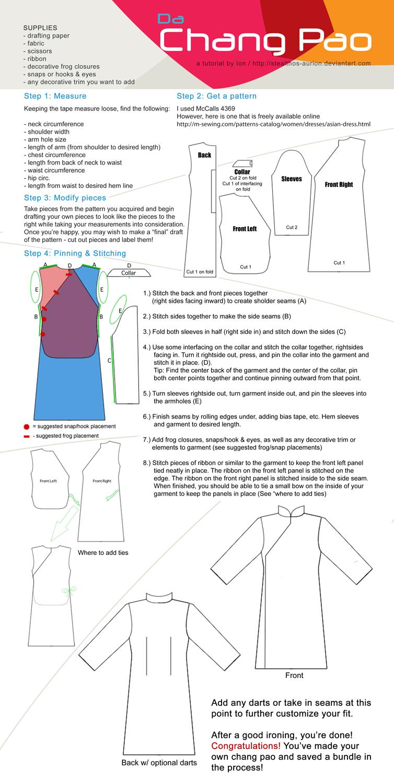 Chang pao sewing tutorial