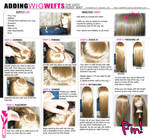 TUTORIAL: Adding Wefts to Wigs