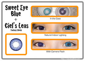 Sweet Eye Blue + Ciel Contact Lenses by Stealthos-Aurion