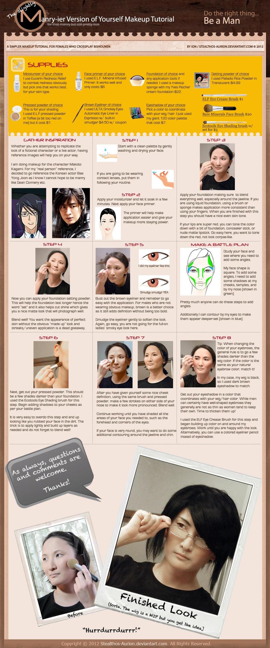 The Slightly Manry-ier Makeup Tutorial
