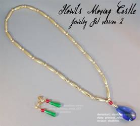 Howl's Moving Castle Jewelry Set
