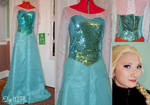 Frozen: Elsa cosplay WIP