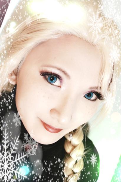 Frozen: Elsa makeup by Stealthos-Aurion