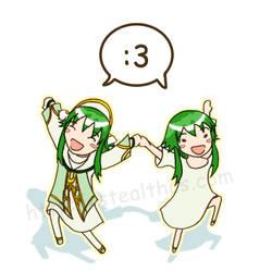 ToA: Greenie Dance by Stealthos-Aurion