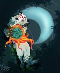 Amaterasu by JokeriMurha