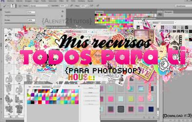Todos mis recursos {para photoshop} by alenet21tutos