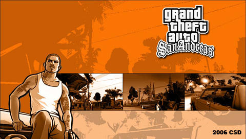 Grand Theft Auto: San Andreas by CSDWallpapers