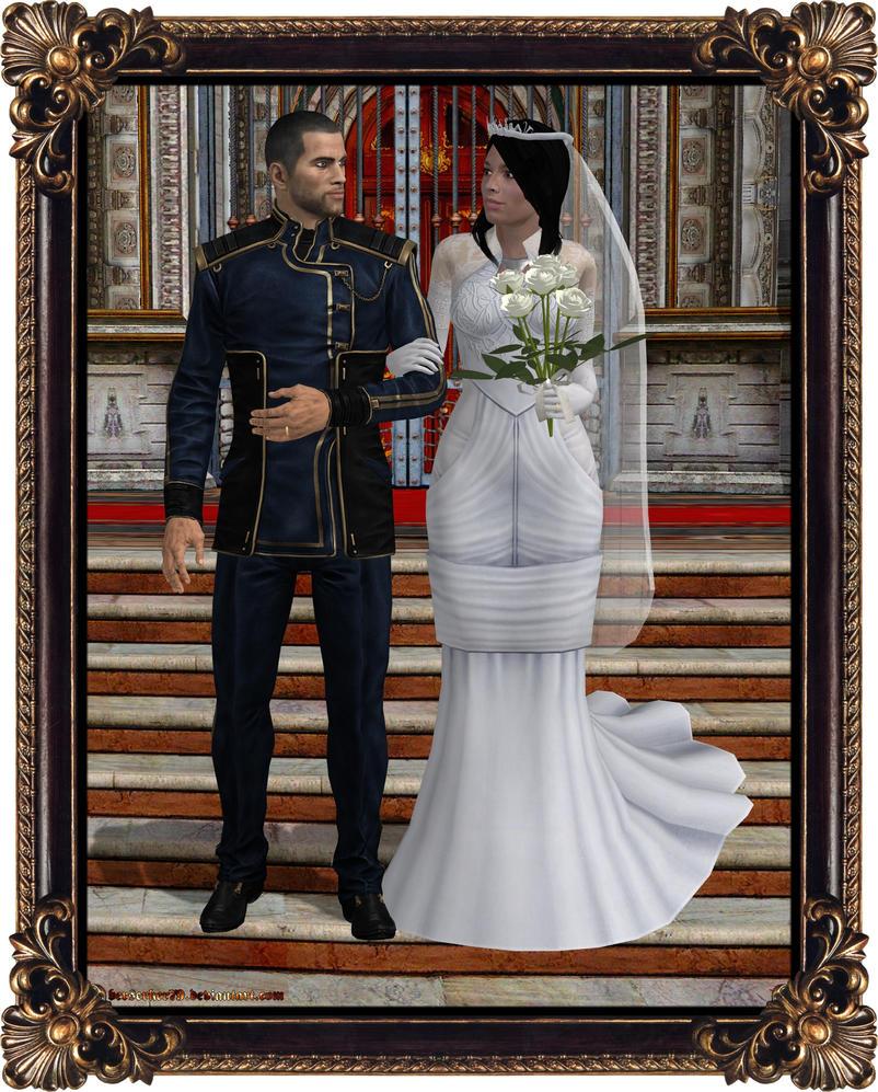 Mass Effect Wedding Ring
